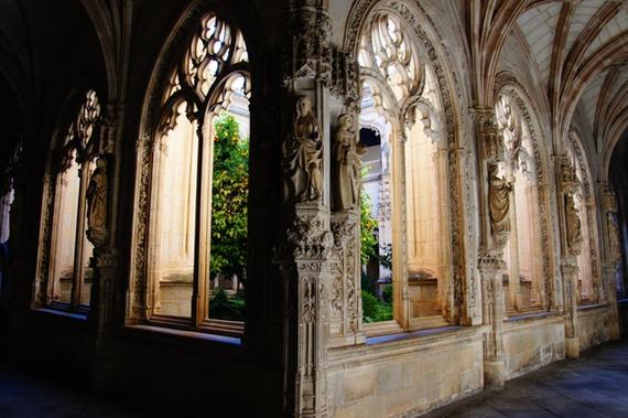 Claustro de estilo Gótico Isabelino de San Juan de los Reyes  Álvaro Anglada