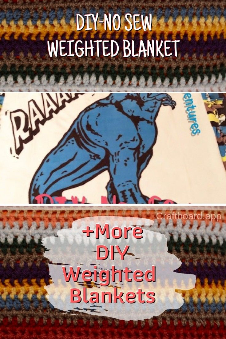 17 Easy Diy Weighted Blankets For You To Crawl Up In Weighted