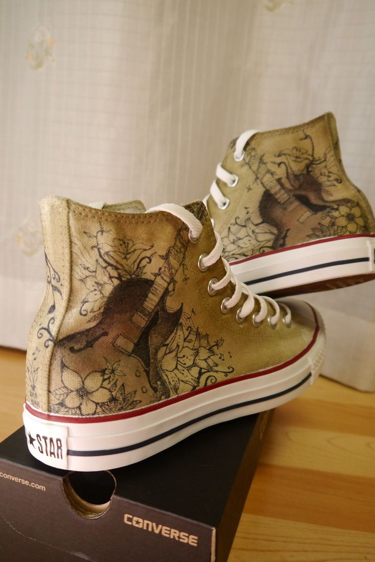 converse customize design - guitar and music