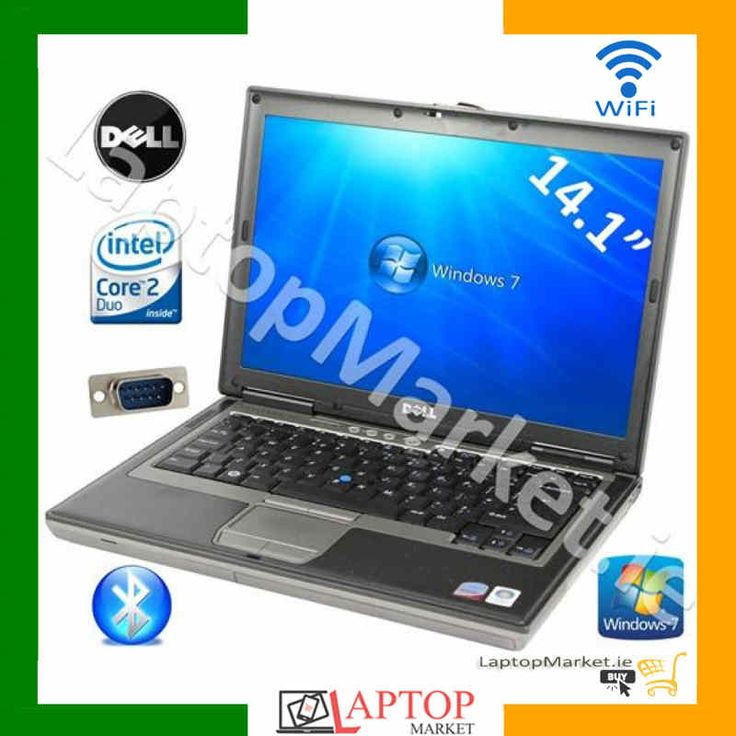"Dell Latitude D620, Metallic 14.1"" Laptop, Intel® Core™ 2 Duo T7200 2.00GHz, 2GB RAM, 120GB Hard Drive Disk, Intel HD Graphics, VGA, Serial Port, DVD, Bluetooth, WLAN 802.11b/g/n, Good Battery, Windows 7"