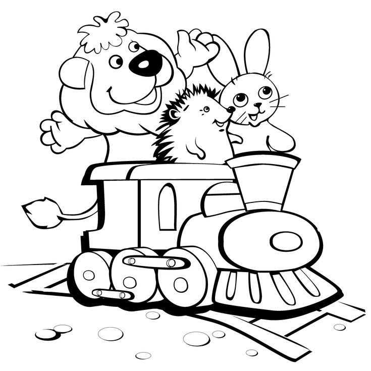 29 best Trains Coloring Pages images on Pinterest | Coloring books ...