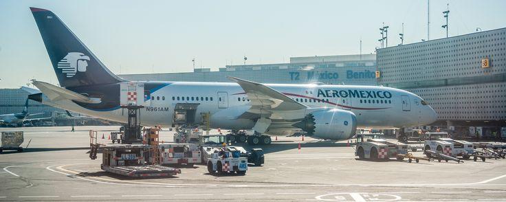 https://flic.kr/p/VDSkdz | Aeromexico B788 (MEX) | N961AM Aeroméxico Boeing 787-8 Dreamliner - cn 35306 / 115. Mexico City - Ciudad de México - Benito Juarez International Airport - MEX MMMX AICM
