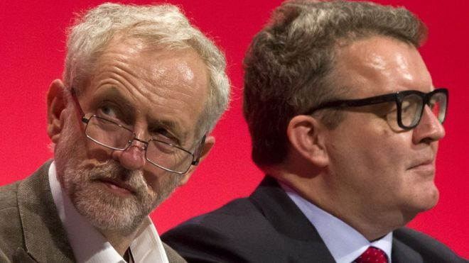 "Deputy Labour leader Tom Watson has told Jeremy Corbyn he has ""no authority"" among Labour MPs and warned him he faces a leadership challenge."