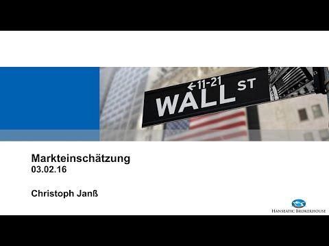 In meinem Live-Webinar gebe ich Ihnen einen Überblick über die aktuelle Lage an den Märkten sowie einen Ausblick für die kommende Woche. Welche Chancen ergeben sich insbesondere im Öl, Gold, EURUSD, DAX und im Dow Jones für Sie? Welche Aktientitel sollten Sie jetzt kaufen oder verkaufen und wie haben sich die vorherigen Aktienempfehlungen entwickelt? Mit hanseatischen Grüßen Ihr Christoph Janß M. A. Analyst und Referent