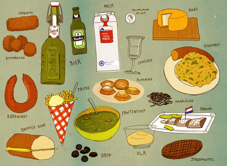 5 Traditional Dutch Foods You Should Try Before Your Die