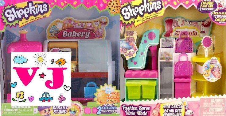 Shopkins Bakery and Shoe store / Шопкинс пекарня и магазин обуви