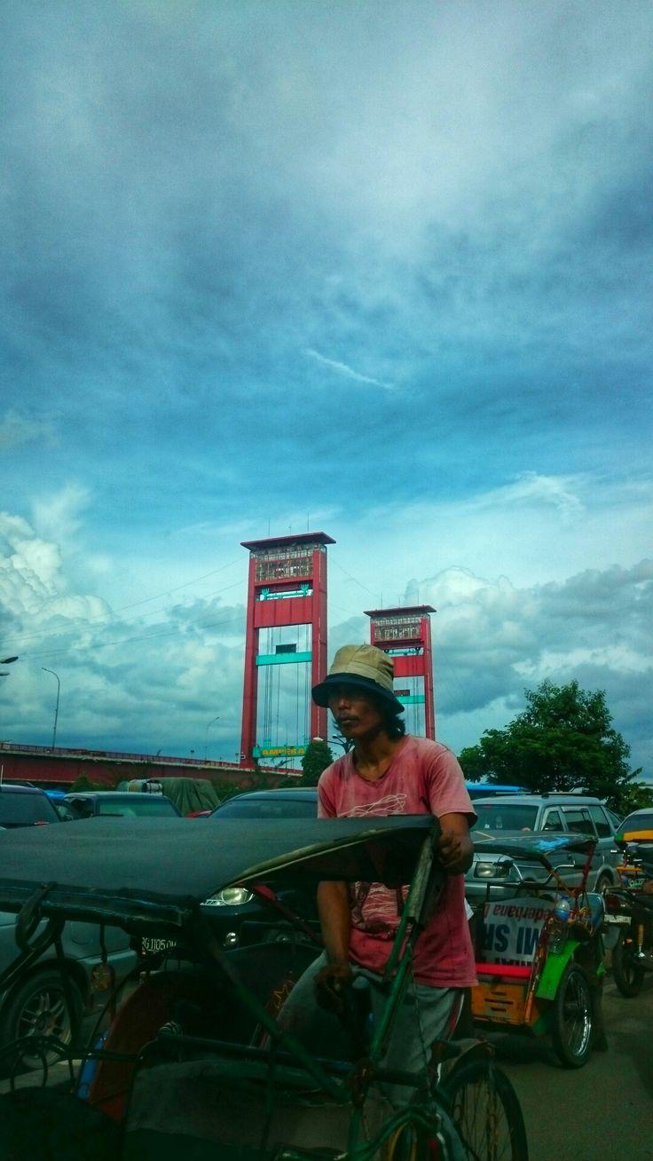 Ampera Bridge, Palembang, South Sumatera