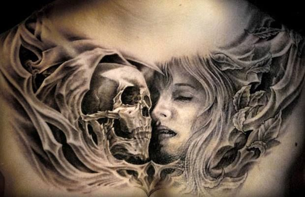 The best chest tattoos inked by some of the very best tattoo artists worldwide. Warning: Mind-blowing as well. Truly amazing, stunning & jaw-dropping chest tattoos