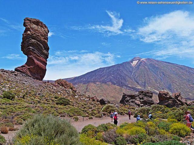 Der Zeigefinger Gottes im Teide Nationalpark auf Teneriffa. http://www.reisen-sehenswuerdigkeiten.de