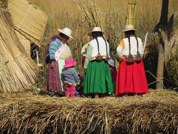 Lac Titicaca Ile d'Uros