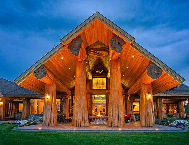 Pioneer Log Homes Of British Columbia Is A Custom Log Home