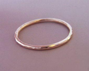 Plata esterlina apilamiento anillo conjunto de diez  por esdesigns
