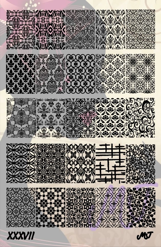 Add more fun to your Stamping Nail Art with more designs from these Image Plates. All MJ Image Plates are made of stainless steel to last for a long long time with proper use. Images on the plates are precision cuts with laser to achieve the highly detailed and sophisticated designs.  **INSTRUC...