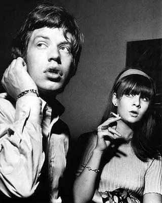 Mick Jagger & Chrissie Shrimpton