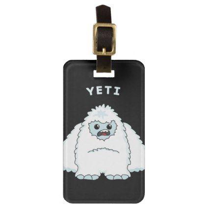 #Yeti Bag Tag - #luggage #tags