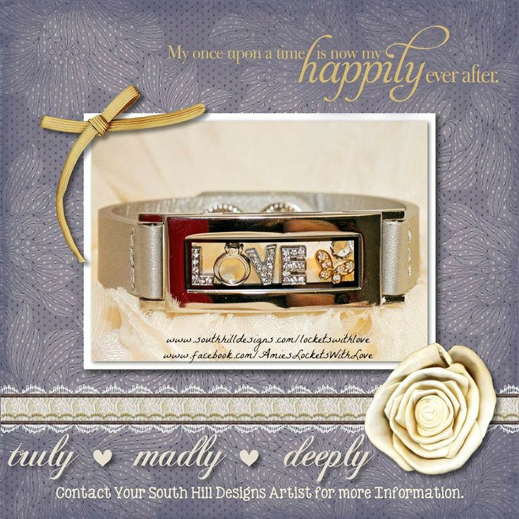 Truly, Madly, Deeply...Our Locket Bracelet
