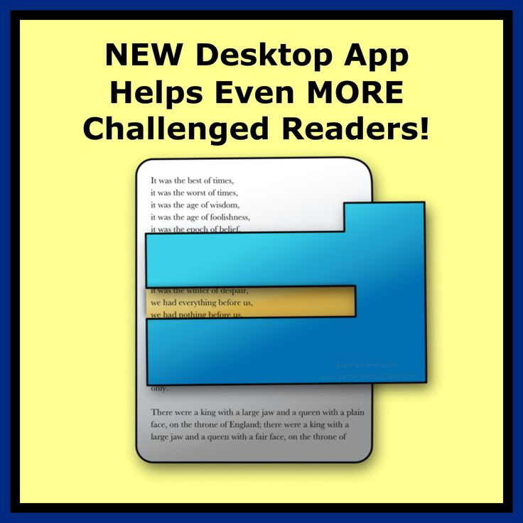NEW Desktop Reading Focus Cards APP for struggling readers of all ages (with low vision, Down Syndrome, ADHD & other challenges)! http://www.focusandread.com/page/488513590
