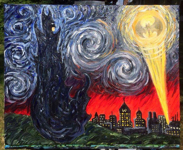 Starry Knight [Batman Artwork]