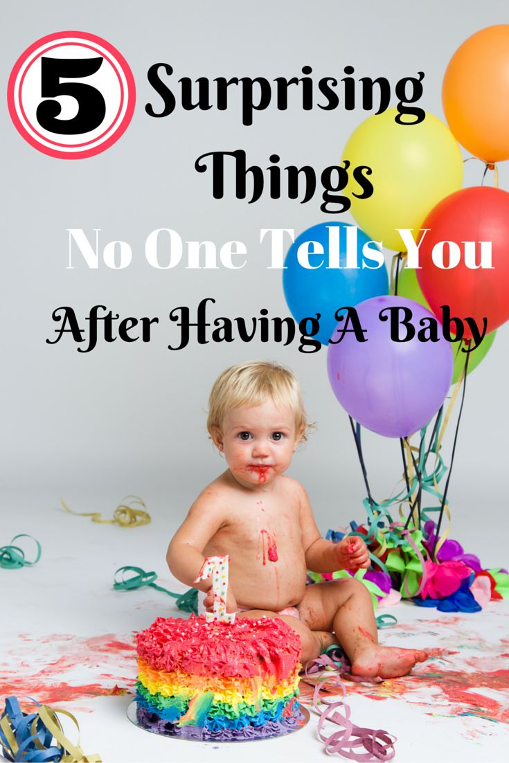 5 Surprising Things No One Tells You After Having A Baby