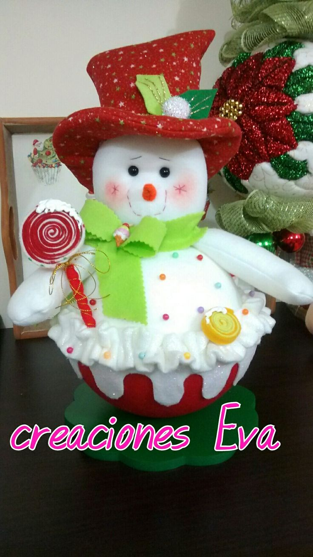 Creaciones Eva taza de helado.