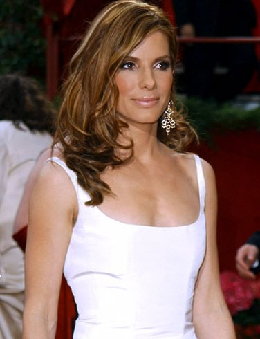 Sandra Bullock~LOVE HER!! And LOVE her hair color & style!!!! <3