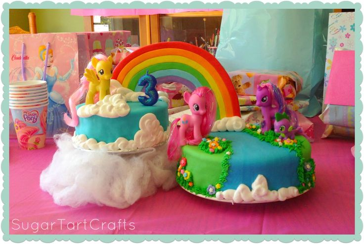 Wow! This My Little Pony Birthday Cake is amazing!
