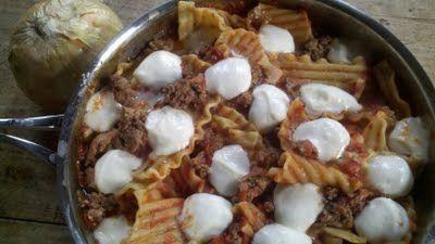 Stovetop Lasagna | Casseroles | Pinterest | Lasagna, Skillet Lasagna ...