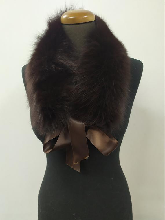 coat winter accessories Finn raccoon high quality fur collar Beige color