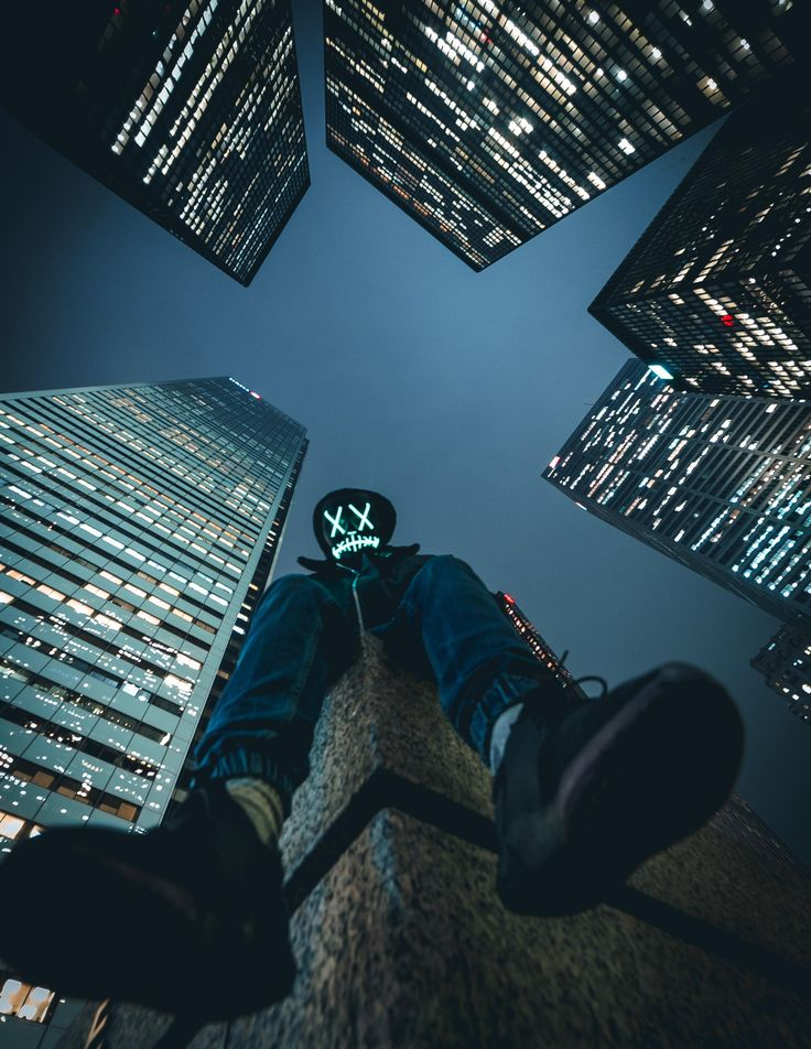 ITAP of a purge mask around the financial district located in Toronto Ontario