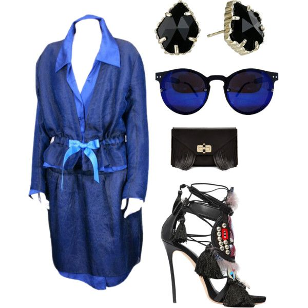 A fashion look from November 2015 by lavishsafiya featuring Dsquared2, Diane Von Furstenberg and Kendra Scott