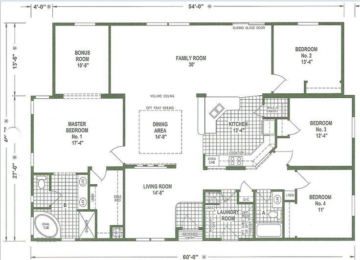 c2502a279981d4be76028ea6633f96e5 mobile home plans layout mobile home floor plans 44 best house plans modular images on pinterest,4 Bedroom Modular Home Plans