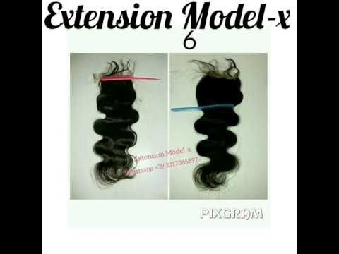 EXTENSION MODEL-X TOP CLOSURE DI ALTA QUALITÀ - YouTube