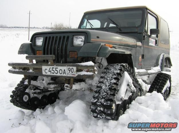 TRAX on a Jeep YJ