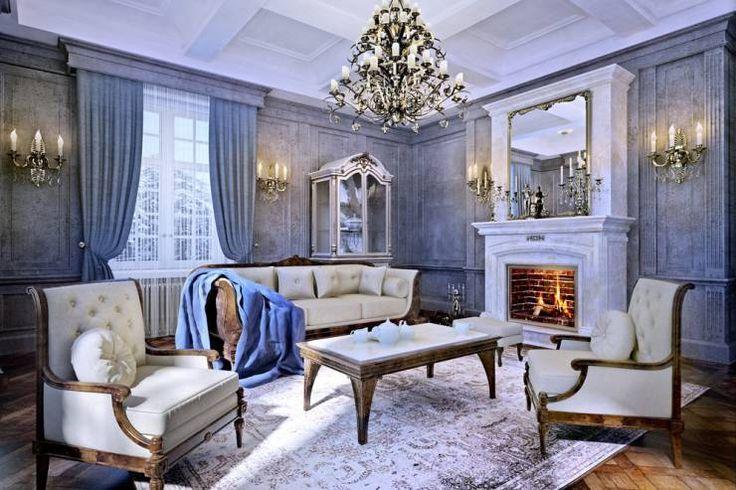 Classic living room furniture by Design studio of Stanislav Orechov. ARCHITECTURE