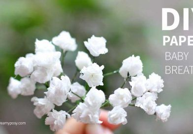 How to make paper flower baby breath, so simple and realistic