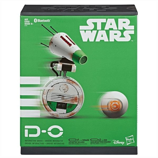 Star Wars D-O RC The Rise Of Skywalker Remote Control Droid Disney Hasbro D-0 RC