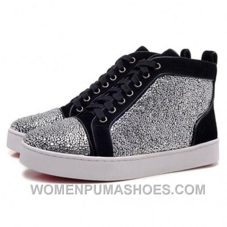 http://www.womenpumashoes.com/christian-louboutin-men-glitter-nubuck-high-p-sneakers-black-silver-cheap-to-buy-iyirc.html CHRISTIAN LOUBOUTIN MEN GLITTER NUBUCK HIGH P SNEAKERS BLACK/SILVER CHEAP TO BUY IYIRC Only $139.00 , Free Shipping!