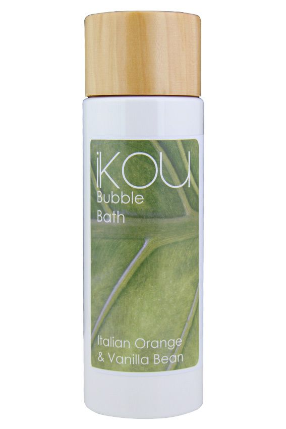iKOU Bubble Bath A mood lifting blend of essential oils to promote a feeling of joy & happiness.  To maximise foam with this luxurious SLS-Free blend, pour a generous amount into the stream of fast running bath water and agitate vigorously.  Complete your bathing ritual with iKOU Body Lotion.  http://www.ikou.com.au/contents/en-us/d53_What's-New-at-iKOU.html
