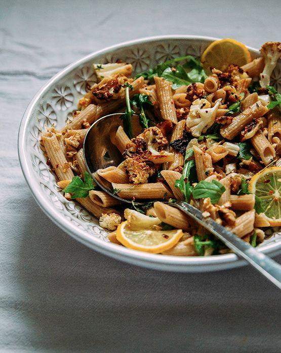 America S Test Kitchen Pasta With Garlic And Arugula