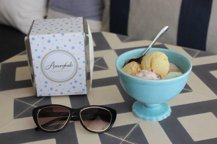 Amorefrato | Gelados 100% artesanais com sabores muito originais, na Rua Passos Manuel.