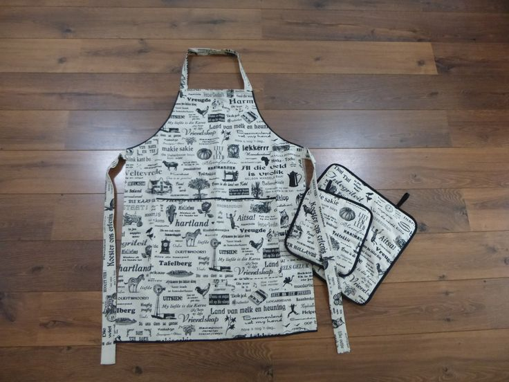 apron made with south african fabric nothing to do with knitting :)