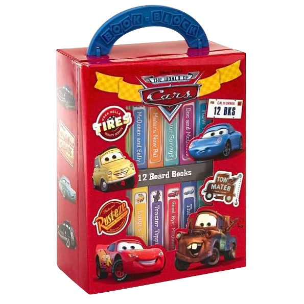 best books to keep kids entertained in the car disney cars mini books