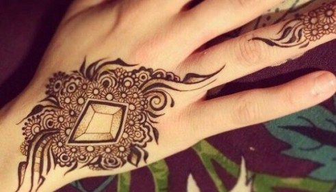 Latest Arabic Mehndi Designs 2017