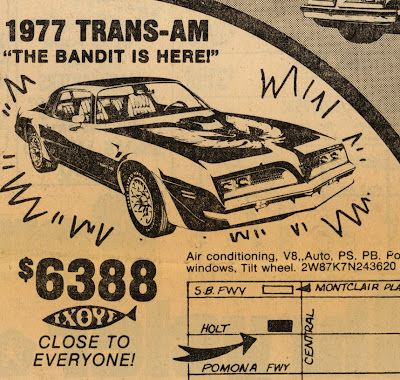1977 Trans-AM .......... can we have these prices again please!