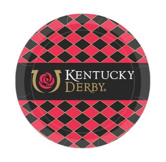 These Kentucky Derby plates are the perfect idea for a horse racing themed party. There are 8 boldly printed, sturdy paper dessert plates in each package, and the 7 inch size is perfect for a piece of cake, a cupcake, snack, or a small meal.  ** 8 dessert plates per package  ** 7 inch plates  ** paper plates are disposable and eco friendly  Looking for more derby themed items to coordinate with your new plates? Here is a helpful link: https://www.etsy.com/shop/PartyParts?r...