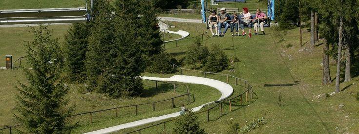 Alpine Slide at Biberwier-Lermoos, © Bergbahnen Langes Lermoos Biberwier