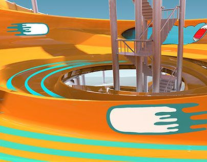 """Check out new work on my @Behance portfolio: """"WATERSLIDE DESIGN"""" http://be.net/gallery/33243223/WATERSLIDE-DESIGN"""