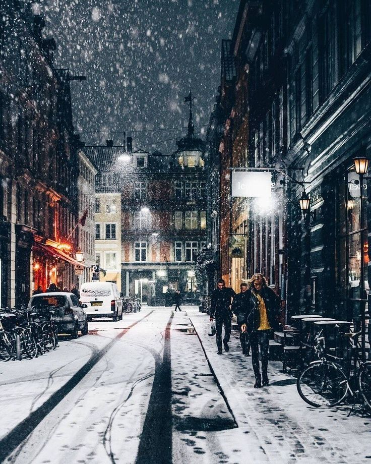 new York city | NYC vibes | Christmas love | let it snow | snow in NYC | xmas | … – London