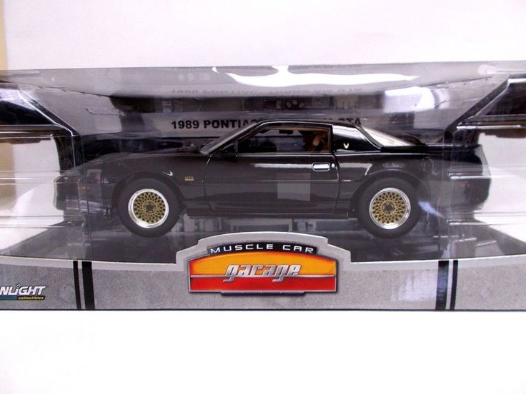 GREENLIGHT 1/18 1989 Black PONTIAC TRANS AM GTA LTD EDITION #Greenlight #Pontiac