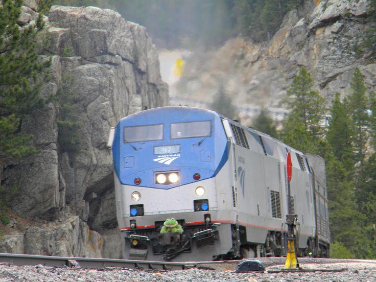 Amtrak California Zephyr, Pinecliffe, Co Train travel